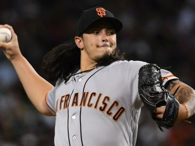 Giants place Dereck Rodríguez on DL after Tuesday night brawl, report says