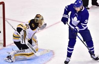 Leafs miss golden opportunity to even series with Bruins' Bergeron out