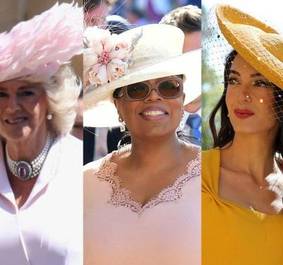 The wildest hats guests wore to Prince Harry and Meghan Markle's royal wedding