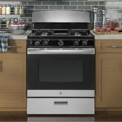 GE Stainless Steel Gas Range Giveaway