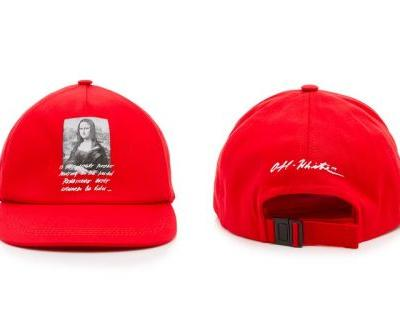 Off-White™'s New Cap Pays Homage to the 'Mona Lisa'