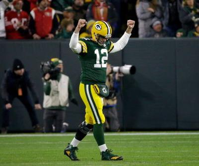 Aaron Rodgers did it again