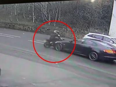 'Van Thief' Returns To The Scene Of The Crime And Gets Run Over