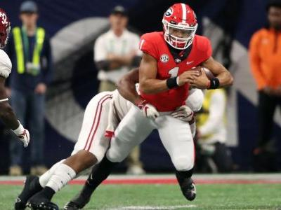 Justin Fields set for transfer to Ohio State from Georgia