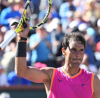 Rafael Nadal out of BNP Paribas Open with right knee injury, match vs. Roger Federer off