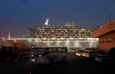 First Russian citizen diagnosed with coronavirus on board cruise ship in Japan