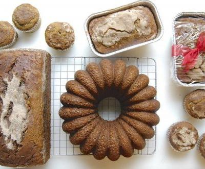 """Whole-Grain Banana Bread: Thinking beyond the 9"""" x 5"""" loaf pan"""