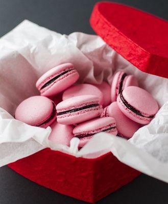 Very Berry Pink Macarons