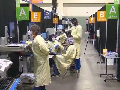 COVID-19 field hospital at Worcester's DCU Center preparing to close