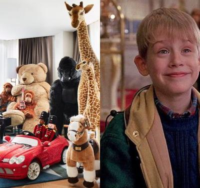You can stay in a hotel filled with toys courtesy of FAO Schwarz, and it's a 'Home Alone' lover's dream come true