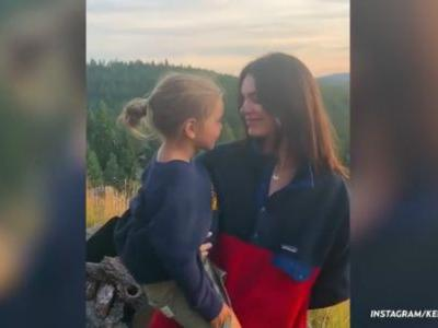 Kendall Jenner Bonds With Nephew Reign Disick in Sweet New Video - Watch!