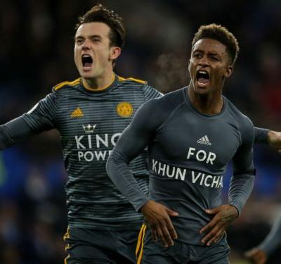 Referee right to book Demarai Gray for Leicester City owner tribute, says manager Puel