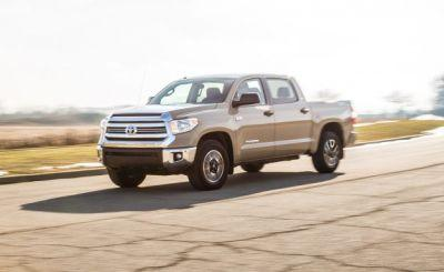 2017 Toyota Tundra 5.7L V-8 CrewMax 4×4 Test: Frozen in Time