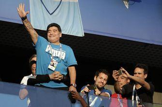 Maradona 'fine' after being treated by doctor at World Cup