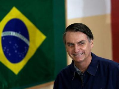 Brazil's Far-Right Candidate Grabs Lead Ahead Of Second Round Presidential Election