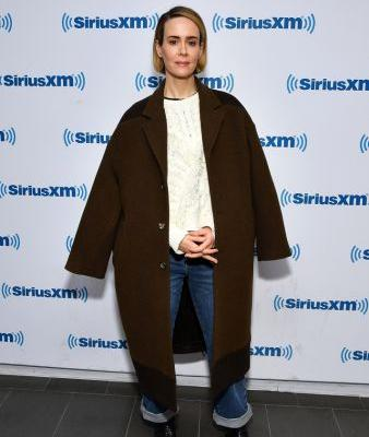 Sarah Paulson Wore More Iconic Coats in 2 Days Than We Have in a Lifetime