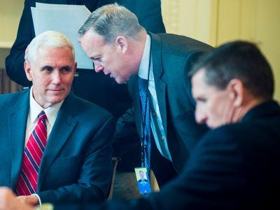 Mike Pence was kept in the dark about the Justice Department's assessment of Michael Flynn