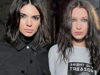 Kendall Jenner & Bella Hadid Walked Straight Off The Runway & Into McDonald's