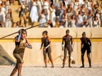 New Wonder Woman 1984 Image and Details Go Inside the Amazon Olympics
