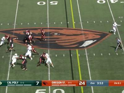 Highlight: OSU's Champ Flemings skies over defender, hauls in impressive touchdown for first career score