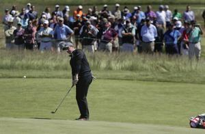 The Latest: American golf is rolling heading into US Open