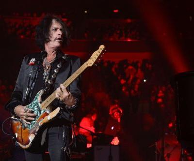 Aerosmith guitarist Joe Perry hospitalized in New York