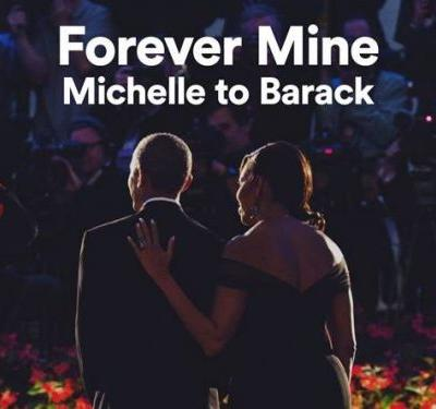Michelle Obama dedicated a Valentine's Day Spotify playlist to Barack, and it includes Beyoncé, Bruno Mars, and Michael Jackson