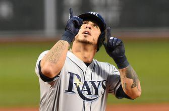Wilson Ramos extends hitting streak to 14 games, Rays miss getting to .500 in loss to Blue Jays