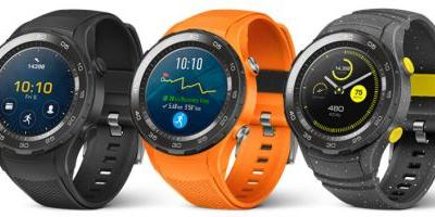 Huawei Watch 2 Leaks Out with a Sportier Look