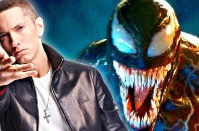 Eminem Offers Tiny Taste of Old School Venom Theme