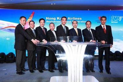 """Flying Beyond"" with Hong Kong Airlines 10th Anniversary"