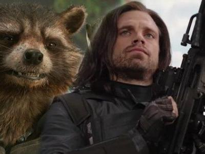 Rocket Raccoon Tries to Buy Bucky's Arm In Avengers: Infinity War