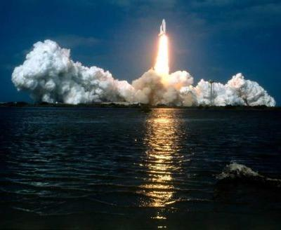 Today in History for April 12: Space Shuttle Columbia blasts off on maiden voyage