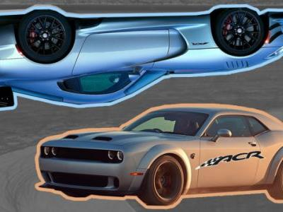 The Dodge Challenger Might Get The Dodge Viper ACR Treatment: Report