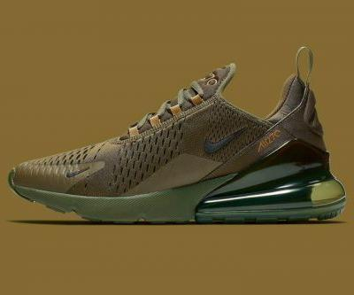 """Nike's Air Max 270 Gets Suited up in """"Triple Olive"""""""