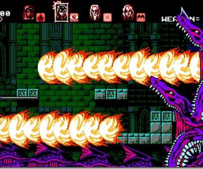 Bloodstained: Curse of the Moon is an 8-bit Castlevania revival coming this month
