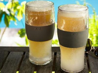 Never Drink Warm Beer With These Chillable Pint Glasses