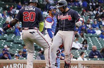 Braves pounce on Cubs early, cruise to 13-4 win