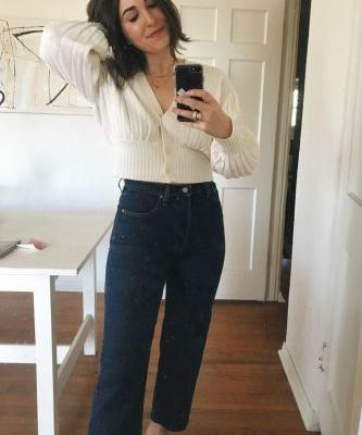 """I Tried the New """"Ribcage"""" Jeans NYC Girls are Going Crazy For"""
