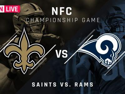 Rams vs. Saints: Score, updates, highlights from NFC championship game