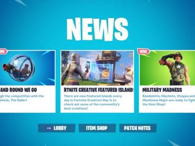 Fortnite Patch Adds New Vehicle, The Baller, Soon; Here's What It Looks Like