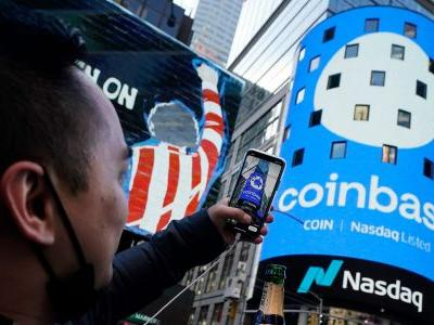 Coinbase could jump 13% this year as cryptocurrency trading volume accelerates, says Mizuho