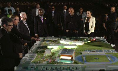 Dr. Dre pledges $10M to help build new performing arts complex in Compton