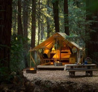 Escape the Modern World at Ventana Big Sur's Chic Glamping