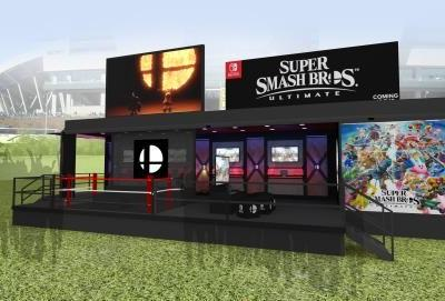 Nintendo is parterning with Tailgate Tour to bring Super Smash Bros. Ultimate to a college near you this fall