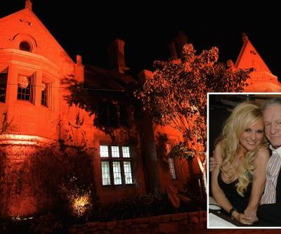 Hugh Hefner's ex claims Playboy mansion is haunted: 'I saw a woman'
