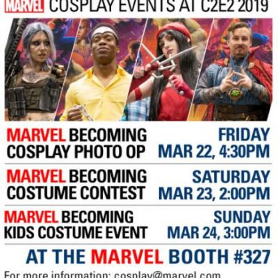 MarvelBecoming is coming to C2E2 with various cosplay and