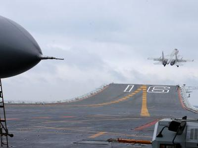 A Chinese navy fighter jet crashed on a Chinese island in the South China Sea, killing both pilots