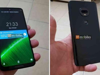 Moto G7 Plus leaks again, this time in hands-on photos