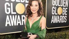 Michelle Yeoh Rocks 'Crazy Rich Asians' Iconic Emerald Ring At Golden Globes